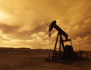 Erdöl-Pumpe